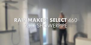 Hansgrohe Rainmaker Select 460 2jet Showerpipe